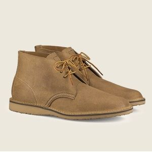 NEW! Red Wing Chukka Hawthorne Boots Suede